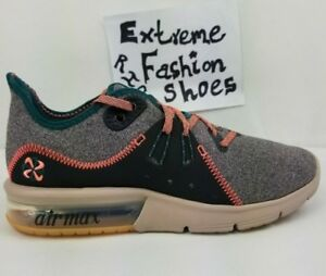 ajedrez ceja Por separado  New Nike Air Max Sequent 3 Premium V Womens Shoes Oil Grey Mango AR0255-001  | eBay