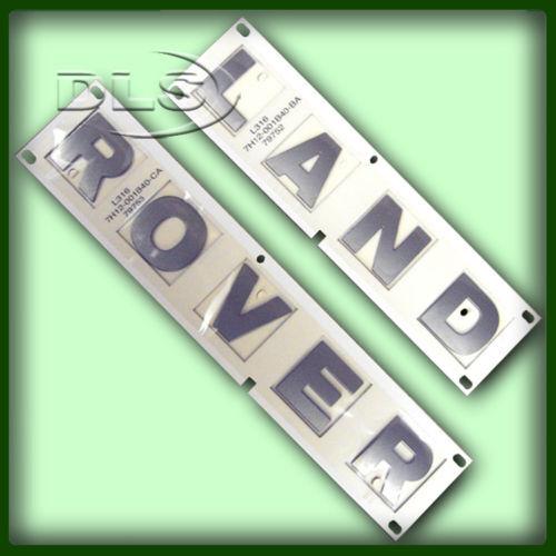 LAND ROVER DEFENDER 2007 BONNET DECAL KIT DLS225