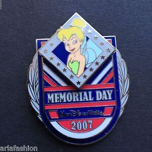 WDW-Memorial-Day-2007-Tinker-Bell-LE-2000-Disney-Pin-54233