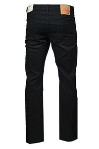 Men-039-s-LCJ-Denim-Comfort-Fit-Regular-Stretch-80s-Jeans-LC28-Black