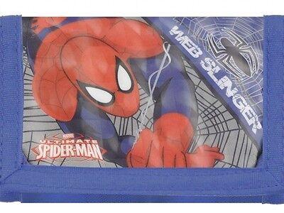 Portafoglio Spiderman Bambino Marvel Portafogli Originale Nuovo