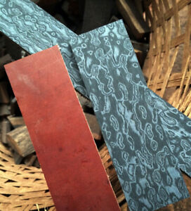 3D-Damascus-Pattern-Micarta-DIY-Material-for-Knife-Handle-Scales-Blanks