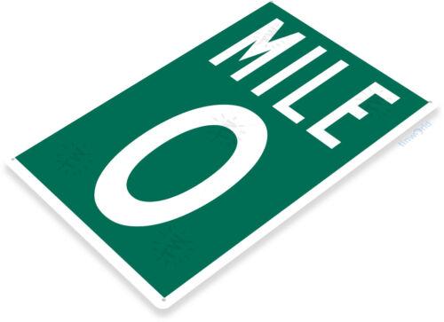 TIN SIGN B178 Mile 0 Key West Tin Metal Sign Duval Keys US1 Decor