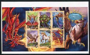Australia-Australia-2011-mitologia-favola-Ledger-ungezahnt-Imperf-EDIZIONE-2500