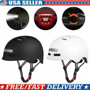 Bike Helmet Protective Mens Adult Road Cycling Safety Mountain Bicycle+LED Light