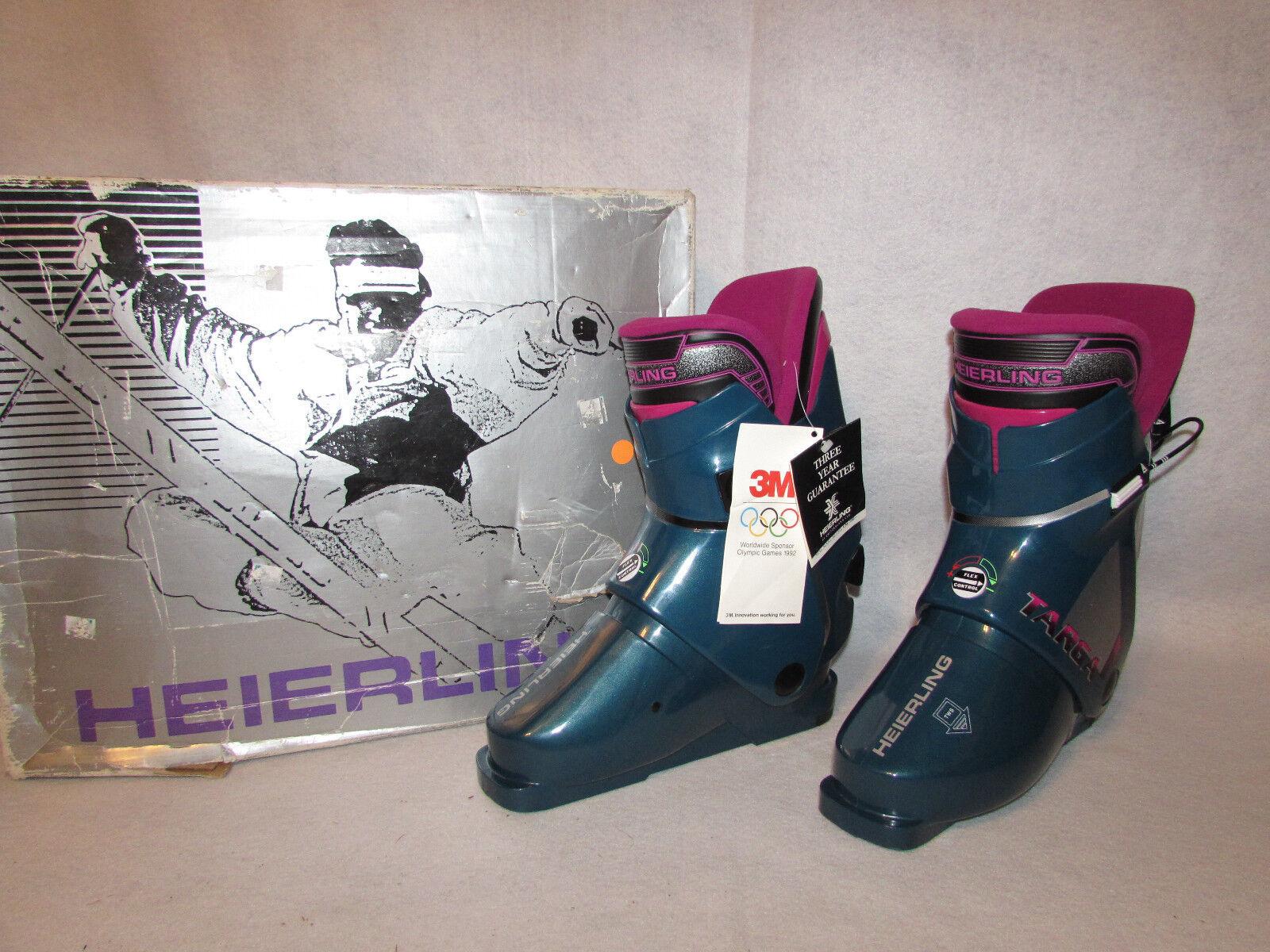 NIB W TAGS HEIERLING TARGA UNISEX SKI Stiefel Größe MEN 7.5 damen 8.5 MADE IN ITALY
