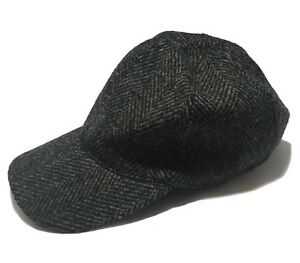 NEW-A-P-C-GRAY-WOOL-BASEBALL-HAT-S-195