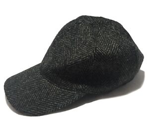 Image is loading NEW-A-P-C-GRAY-WOOL-BASEBALL-HAT-S-195 654e85d63a8