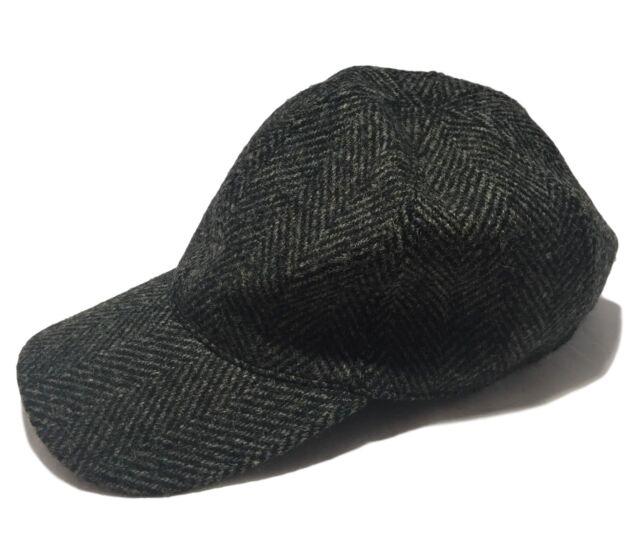 NEW, A.P.C. GRAY WOOL BASEBALL HAT, S, $195