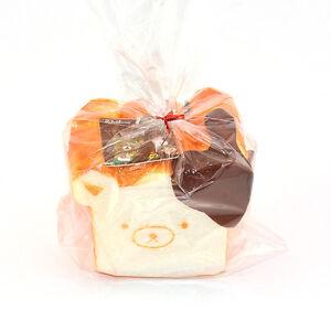 Rilakkuma Tag Squishy Supplier : 11CM Jumbo Rilakkuma Squishy Chocolate Toast Kids Toy Bread Fun Hobbies With Tag