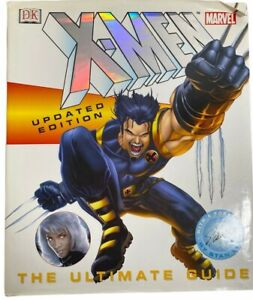 Vintage Book Marvel X-Men Updated Edition The Ultimate Guide Hardcover