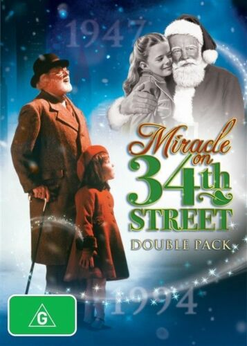 1 of 1 - Miracle on 34th Street DVD [Original Version & The Remake] [Region 4