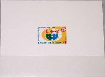 Afrika Verantwortlich Upper Volta Obervolta 1972 369 271 Deluxe World Red Cross Day Rotes Kreuz Mnh Briefmarken
