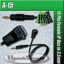 PIONEER 3.5MM AUX INPUT AUDIO CABLE MP3 iPOD CD-RB10 CD-RB20 iB100 iP-BUS 12-PIN