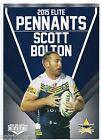 2015 NRL Elite Pennants (EP 41 / 80) Scott BOLTON Cowboys