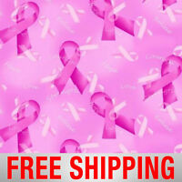 Fleece Fabric Breast Cancer Anti Pill 60 Wide Free Shipping Style Aa 1531