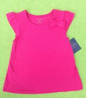 Baby Girl Clothes : Falls Creek Capped Sleeve Layered Look Shirt W/ Bow