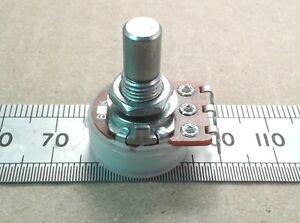 6-0mm-Round-Shaft-Solder-Lug-16mm-Linear-Potentiometer-Mono-B-Lin-Pot-RSL60
