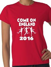 Euro 2016 Football Come On Northern Ireland Ladies T-Shirt Size S-XXL