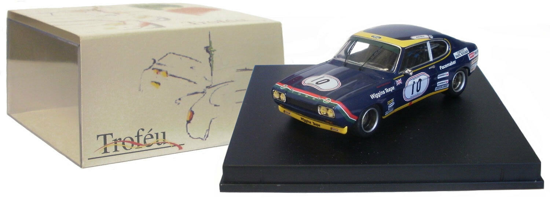 Trofeu 2309 Ford Capri 2600RS Winner 6H Paul Ricard 1972 - Muir Miles 1 43 Scale