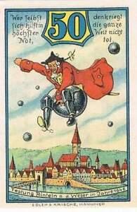 Duitsland-stadsgeld-Notgeld-Rinteln-50-pfennig-1323