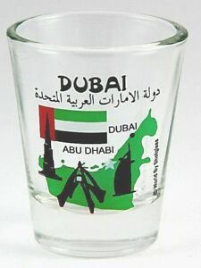 Dubai United Arabe Emirates ( Uae ) Landmarks Collage Verre à Shot Shotglass kxfMPD0B-09153454-886024029