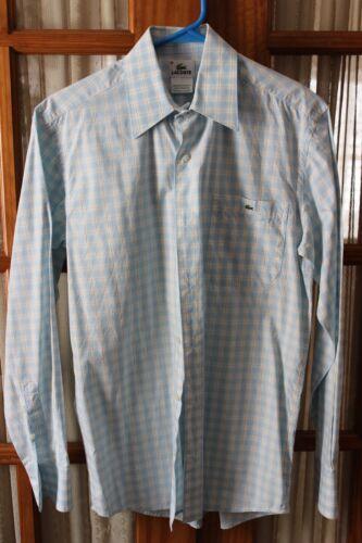 Mens LACOSTE button front shirt size 38