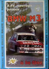 DVD Best of BMW M3 E30 Rally - A La Une -  Fina / Bastos / Racing - Motorsport