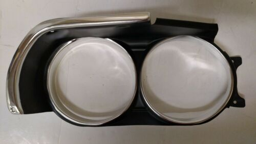 1971 71 Dodge Challenger Headlight Bezels lamp bezel trim housing LH RH mopar