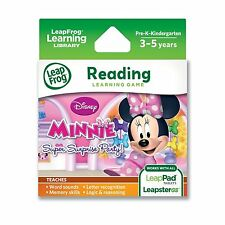 LeapFrog Disney Minnie`s Bow-tique Super Surprise Party Learning Game (Works wit