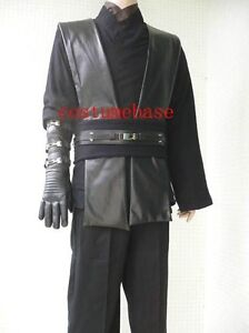image is loading anakin skywalker black sith tunic star wars costume - Costume Props