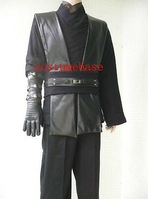 Anakin Skywalker BLACK Sith Tunic Star Wars costume accessories props