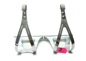 New Christophe Toe Clips for Vintage Fixed Gear Bike size M 420