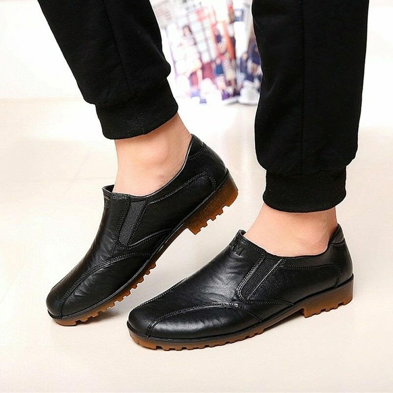 495b4011ec2a Hot Men Chef Shoes Worker Loafers Safety Safety Safety Slip-Ons Restaurant  Kitchen Moccasins A