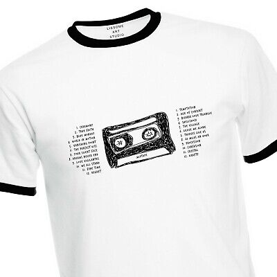 Mixtape T-Shirt of their 24 Greatest Hits Bizarre Love Triangle Blue Monday