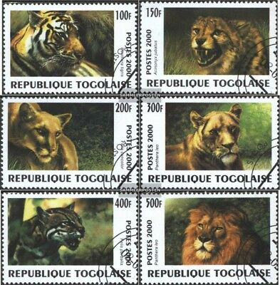 Cancelled 2000 Predators Togo 2991-2996 Fine Used complete.issue.