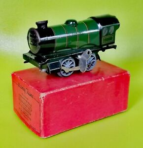 Hornby-Trains-England-by-Meccano-Gauge-0-Clockwork-Wind-up-Locomotive