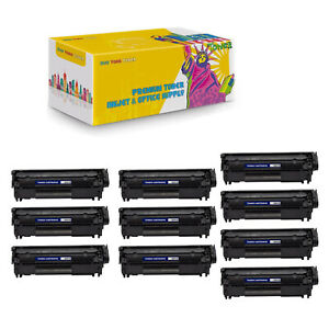 10-Compo-Compatible-Q2612X-High-Yield-Black-Toner-Cartridge-For-HP-LaserJet-1010