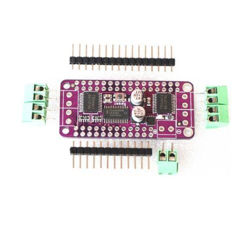 Stepper Motor Dual DC motor Driver Controller Board for Arduino PCA9685+TB6612 C