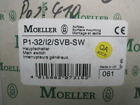 Moeller P1-32/i2/svb-sw Disconnect Switch P132i2svbsw