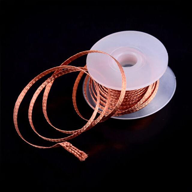 1 Roll 3.5mm 1.5M Desoldering Braid Solder Remover Wick Copper Wire Repair Tool