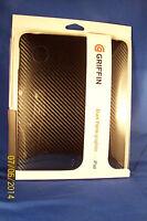 Griffin Elan Form Graphite Case Tablet Pc Skin For Apple Ipad Black Gb01612
