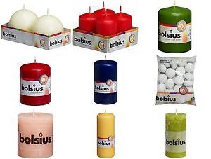 BOLSIUS-Rustic-Kerze-Stumpenkerzen-Kugelkerze-Adventskezen-Weihnachtskerzen