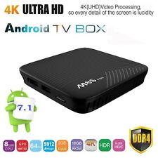 2017 M8S Pro Android 7.1 4K Smart TV BOX 2GB 16GB Amlogic S912 Octa Core Wifi