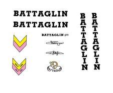 Battaglin Giro Bicycle Decals, Transfers, Stickers - Black n.20