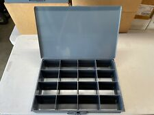 Durham Large Steel Compartment Box Metal Small Parts Drawer Cabinet With Handle
