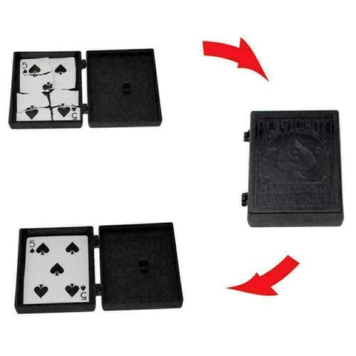 Broken Card To New Case Disappearing Poker Case Close B7C5 Trick Up Q1O5 E1W9