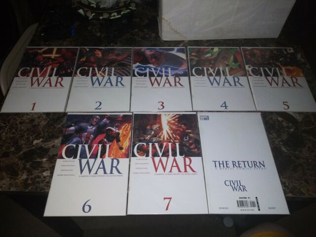 CIVIL WAR 1 2 3 4 5 6 7 + The Return #1 (Complete Run 1st Prints) 2006