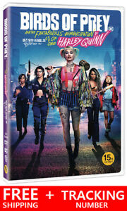 Birds Of Prey And The Fantabulous Emancipation Of One Harley Quinn Dvd Region 3 Ebay