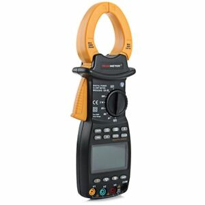 MS2203 3 Phase TRMS Digital Clamp Meter Power Factor Correction Multimeter